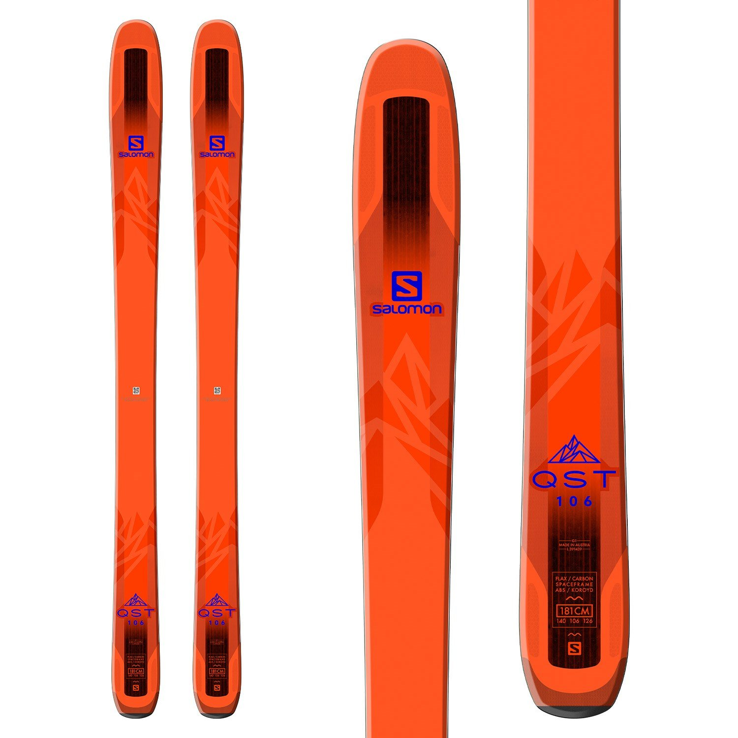 Salomon QST 106 w/ Salomon Warden MNC 13 Binding - Abom Ski & Board |  Calgary's Snow and Watersports Destination