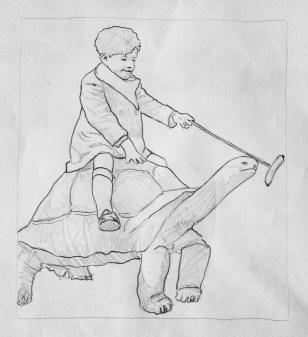 Hot Dog Turtle