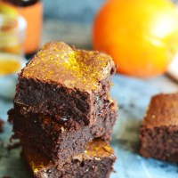 Mulled Wine Brownies