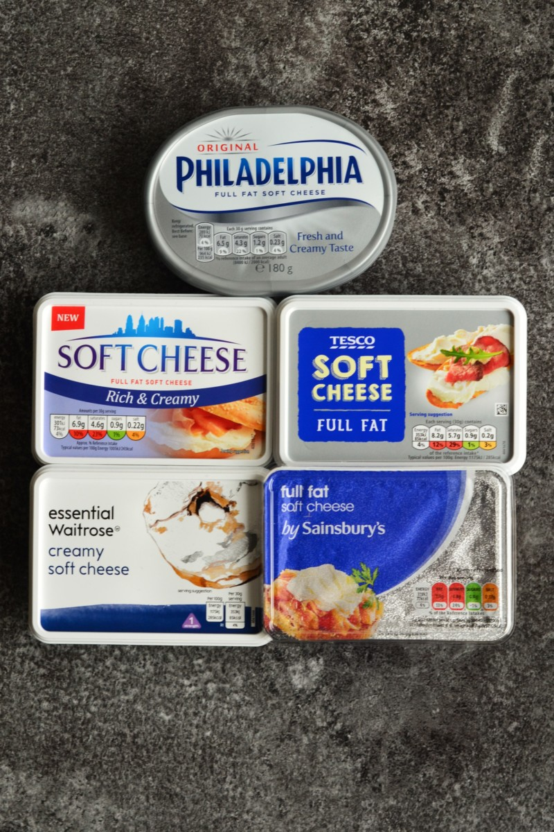 The Taste Test: Cream Cheese