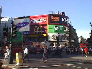 Piccadilly Square, London, England