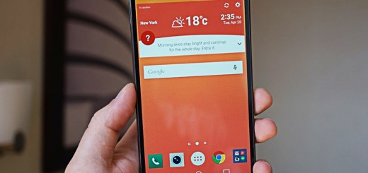 LG G4 Vorderseite, von vorne
