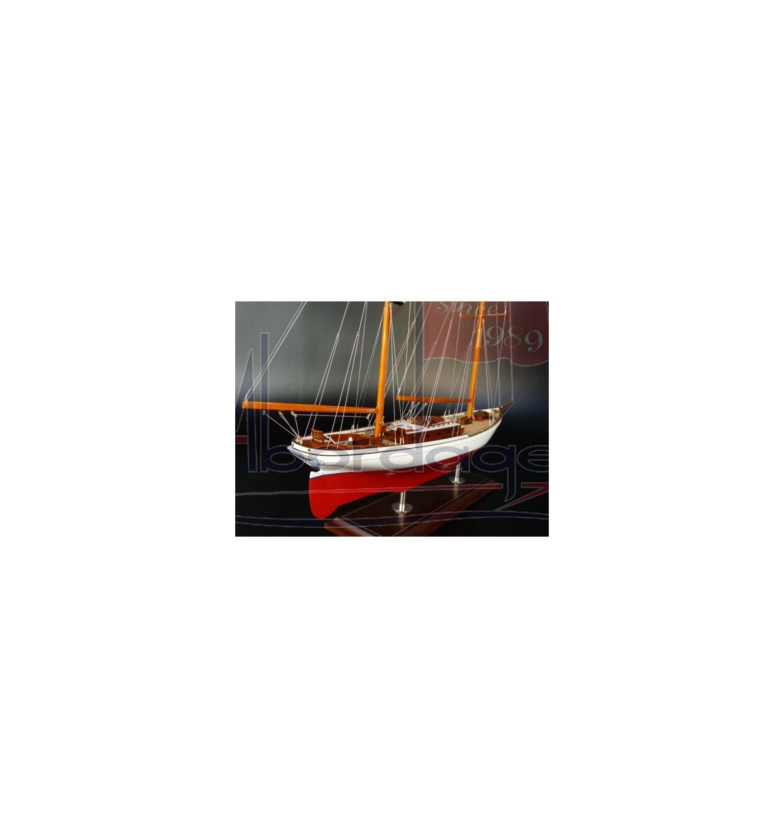 Ticonderoga 1936 A Clipper Bowed 72 Ketch Custom Boat