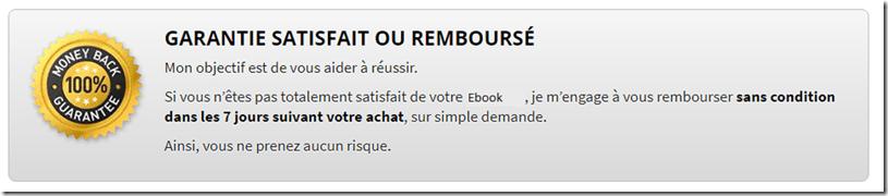 garantie ou remboursée ebook sms seduction