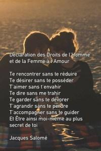 amour véritable