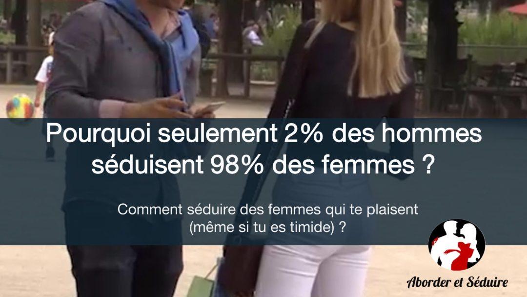 Pourquoi 2% des hommes séduisent 98% des femmes