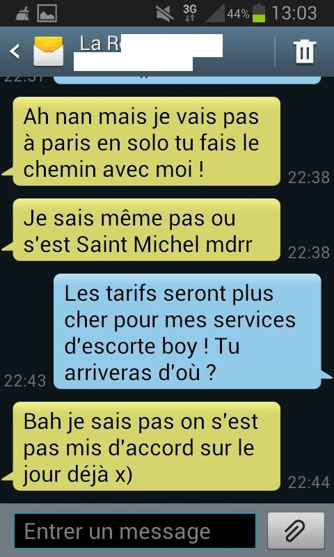 sms sexuel