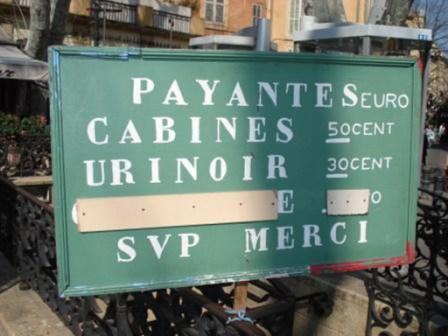 banheiro em Aix en provence