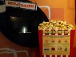 Cinema gratuito no aeroporto Changi, em Singapura