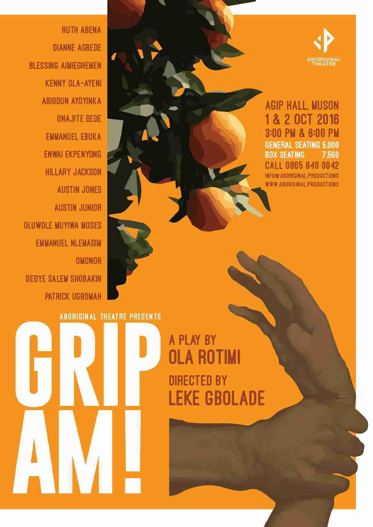 Grip Am Poster