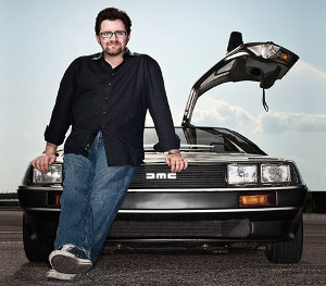 Not even owning a Delorean saves you, Mr Cline, and I'm wearing a hand-drawn flux-capacitor t-shirt as I write