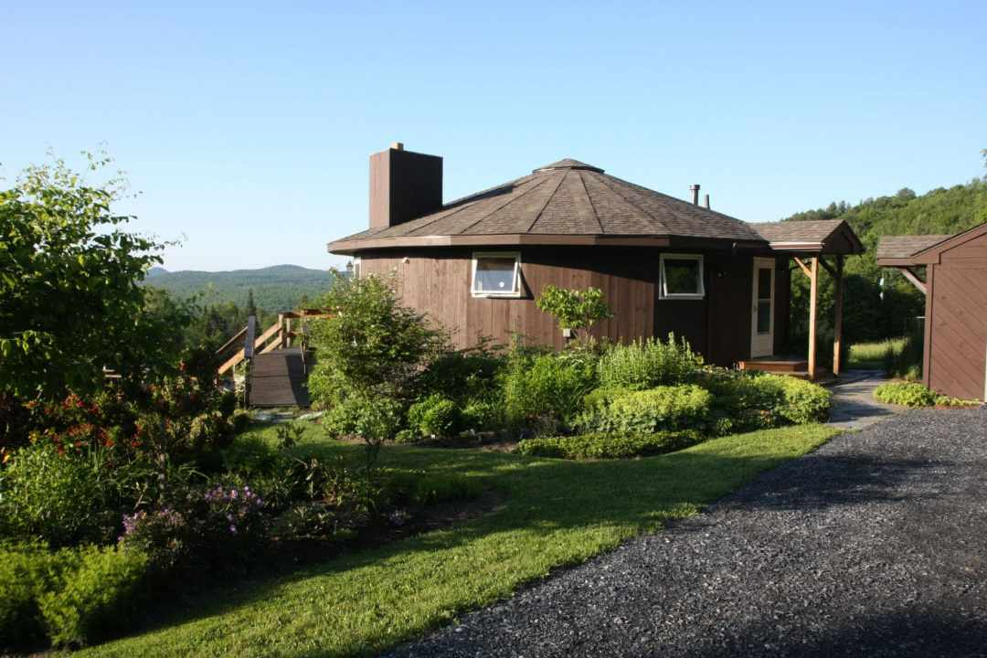 Thistle Hill - Brattleboro VT  - Landscape Design - house