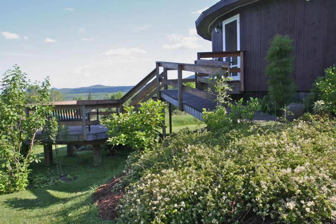 Thistle Hill - Brattleboro VT  - Landscape Design - lodges