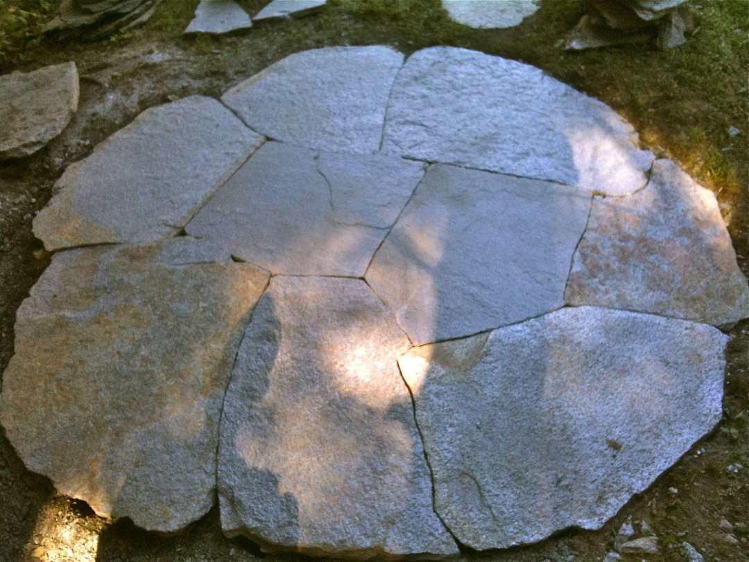 Landscape Design and Stonework in Western MA  Goshen Stone circle