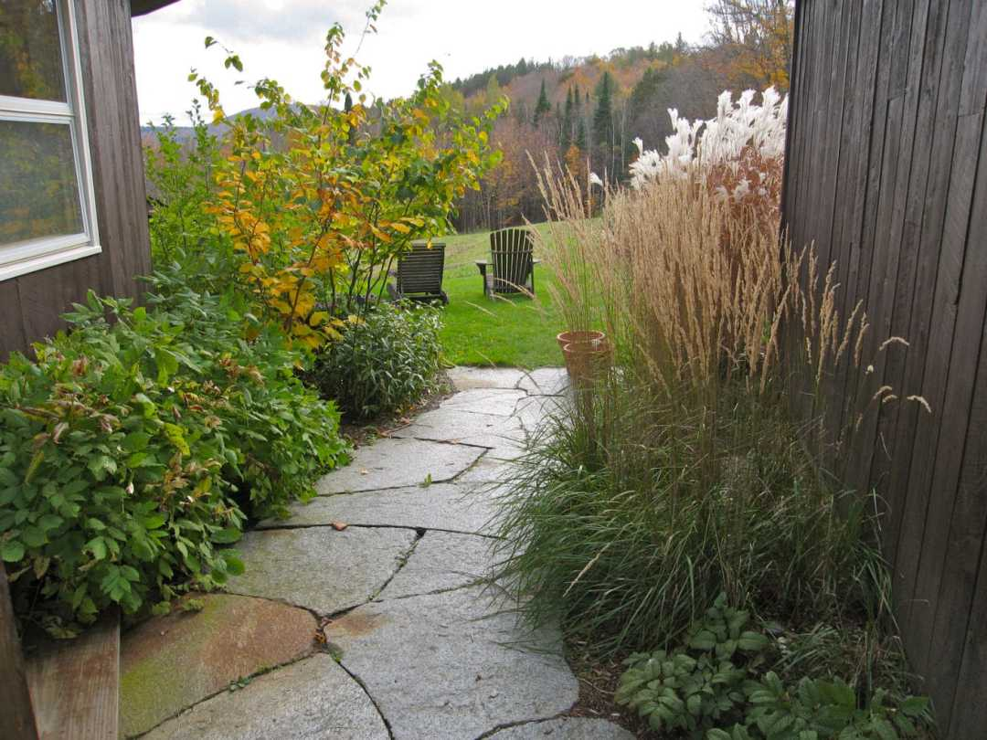 Landscape Design and Stonework in Western MA - Goshen Stone walk