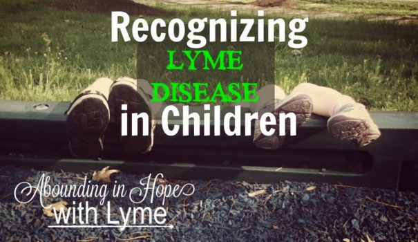 Recognizing Lyme Disease in Children
