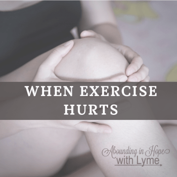 When Exercise Hurts