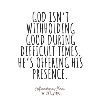 God Offers His Presence