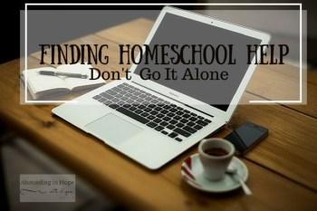Homeschool, Laptop, Finding Homeschool Help