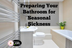 Preparing Your Bathroom for Seasonal Sickness