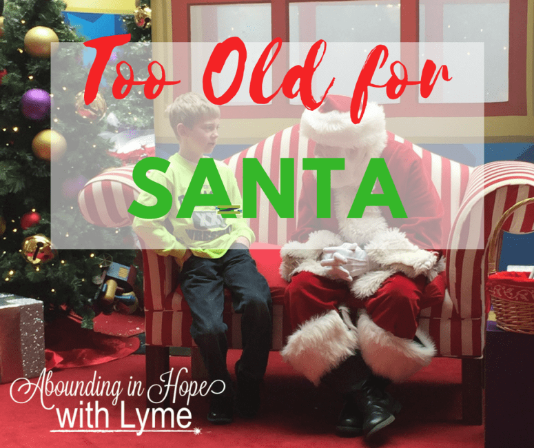 Too Old For Santa