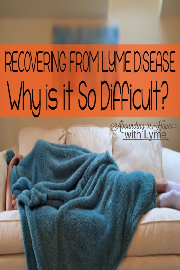 Recovering from Lyme Disease is Difficult