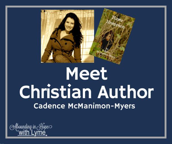 Christian Author Cadence McManimon-Myers