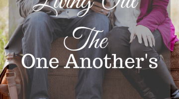 Living Out the One Another's with a Printable