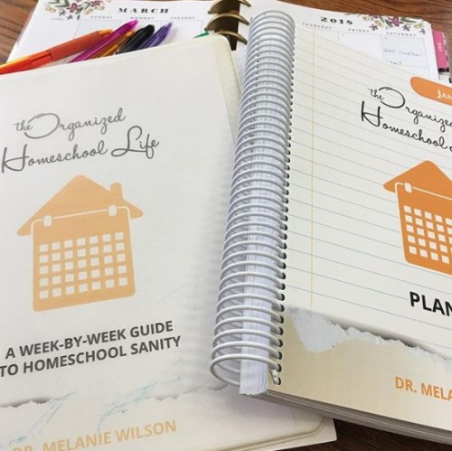 Organized Homeschool Life Planner