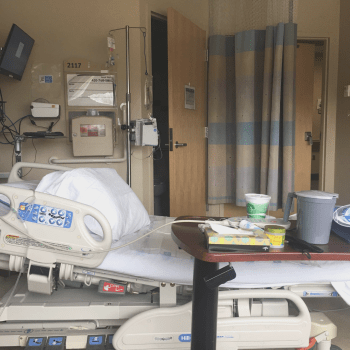 Surgery and recovery in the hospital
