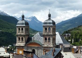 Briançon in the southern Alps