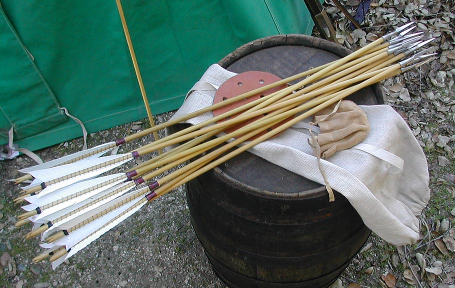 How Armies Manufactured so Many Arrows for a Battle