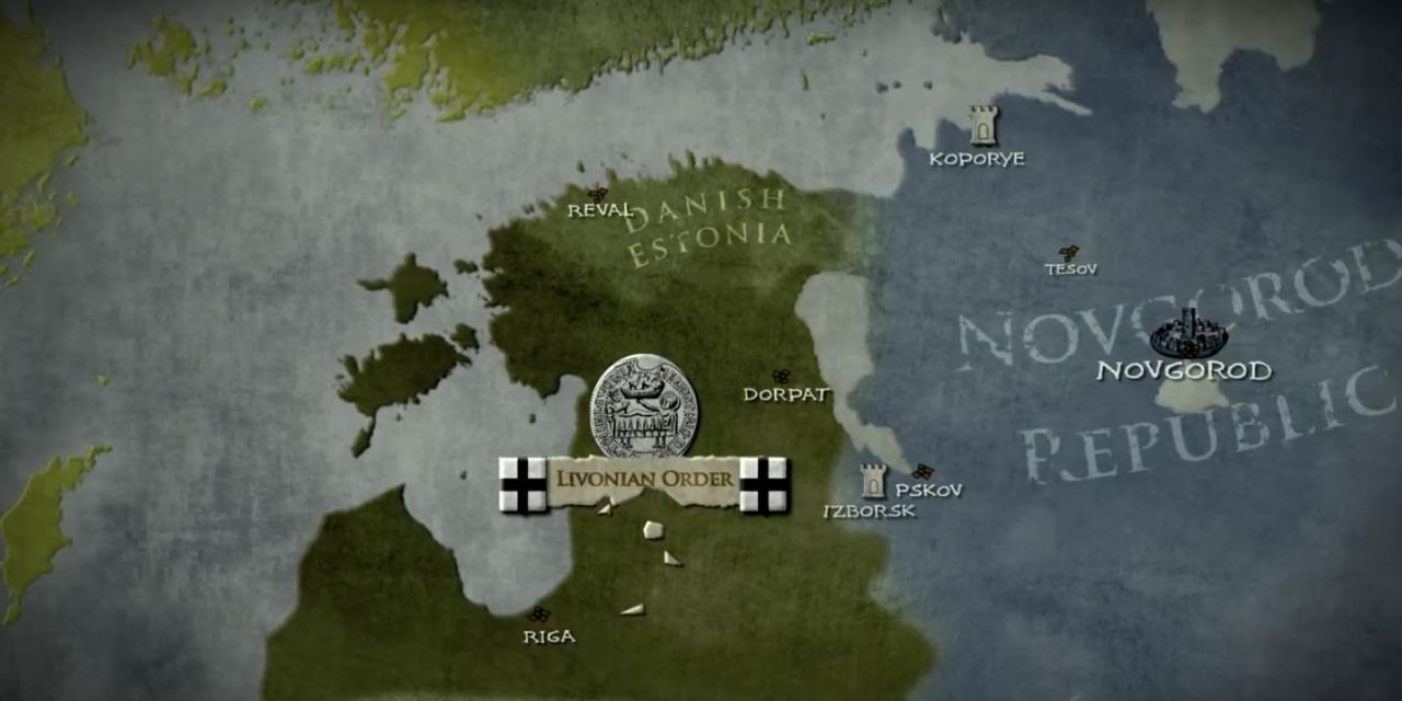 Alexander Nevsky and The Battle on the Ice 1242 AD (Video)
