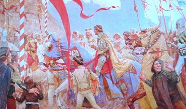 Tsar Stefan Dusan and The Serbian Empire