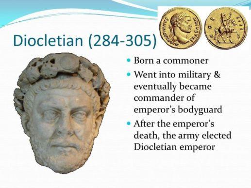 diocletian achivements