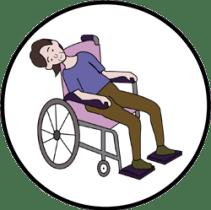 รถเข็นวีลแชร์ไม่รองรับการใช้งานตามสภาพร่างกายของผู้ใช้งาน