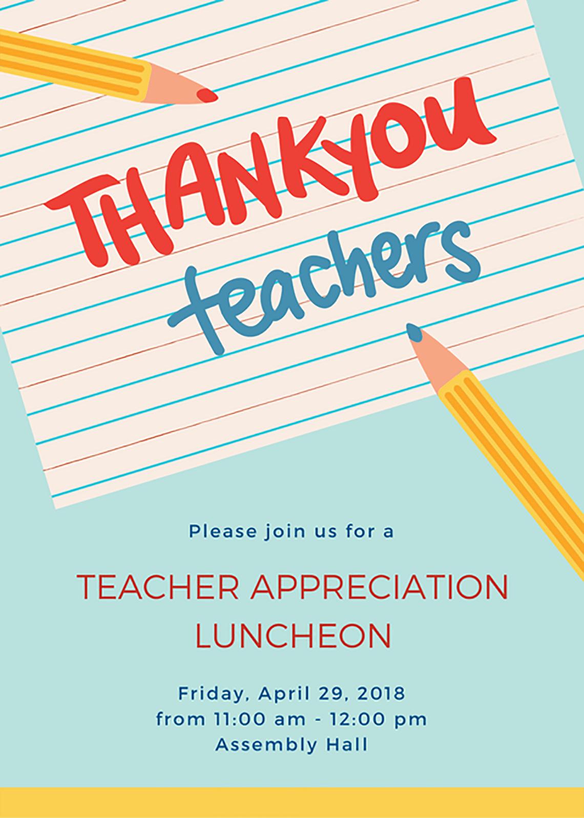 30 Beautiful Teacher Appreciation Ideas