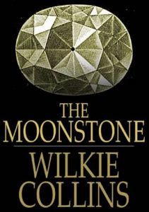 Moonstone by Wilkie Collins in the online ebook reader app