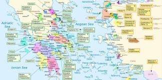 litinerary of homer's greece