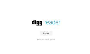 Digg Reader   Manage and Read Your RSS Feeds