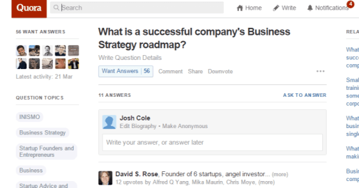 4  What is a successful company's Business Strategy roadmap  - Quora