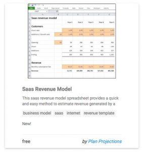 Saas Revenue Model