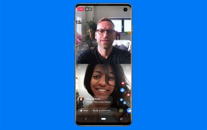 Facebook Live With no celular