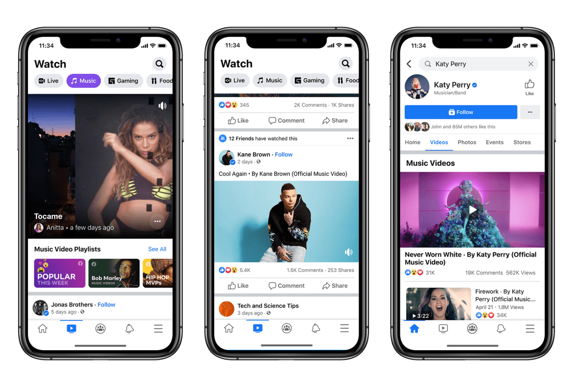 How To Use Facebook Music Video Feature