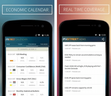 FXStreet News and Economic Calendar App