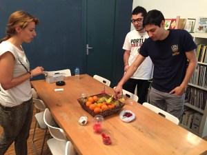 Día de la Fruta - team