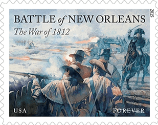 Battle of New Orleans Limited Edition Forever stamp