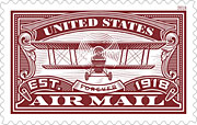 Air Mail Forever stamp