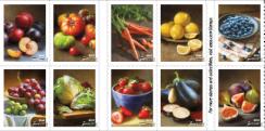 Fruits & Vegetables stamps