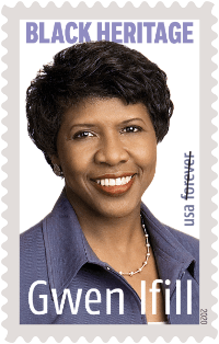Gwen Ifill stamp